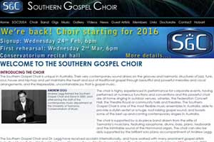 Southern Gospel Choir
